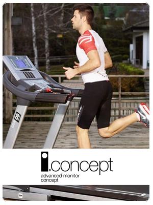 BH Fitness i.Concept - Interaktív tréning a BH fitneszgépeivel