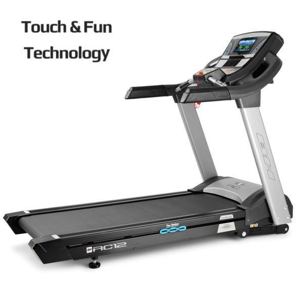 BH Fitness RC12 TFT futópad (2017)