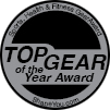 """2010 Top Gear of the Year Award"" Silver Winner"