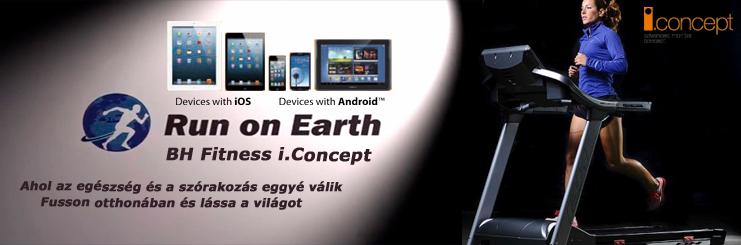 BH Fitness i.concept interaktív futópadok és más fitneszgépek - világújdonság