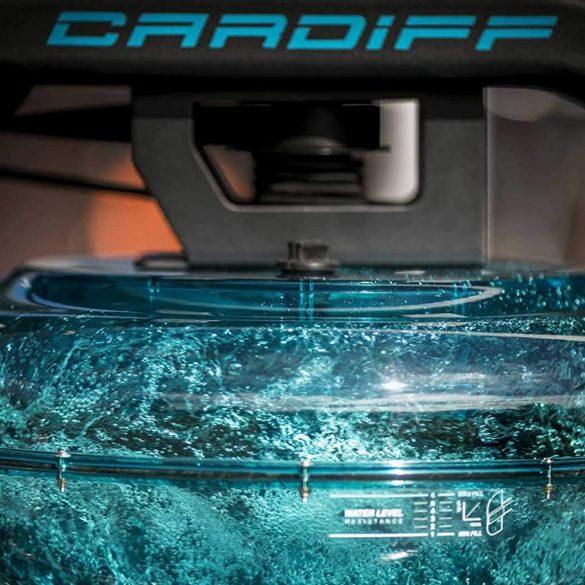 BH Fitness Cardiff vizes evezőgép