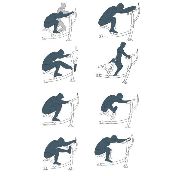 BH Fitness Fitness Stretch 8 az 1-ben fitneszgép