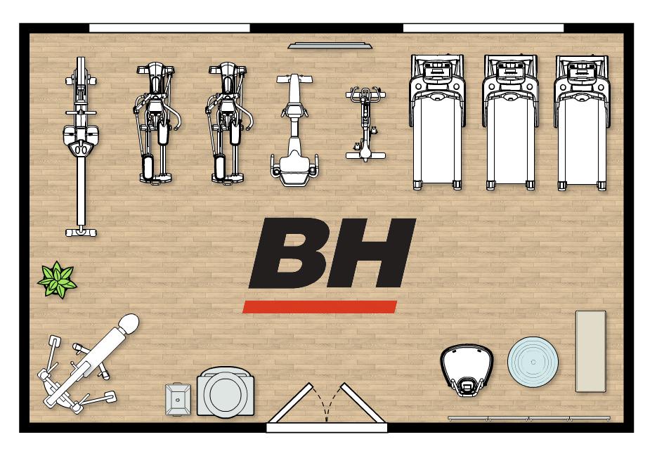 BH Fitness terem berendezése
