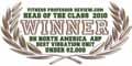 """""""Fitness Professor - Head of Class 2010"""" díj a BH ABP vibrációs gép részére: A legjobb vibrációs gép 2000 $ alatt."""