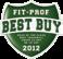 Fit-Prof: 2012 Legjobb Vétele díj a LK790-es futópad és a SB4 Spin Bike részére.
