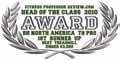 """Fitness Professor - Head of Class 2010"" díj a T8 Pro futópad részére: A legjobb futópad 3000 $ alatt."